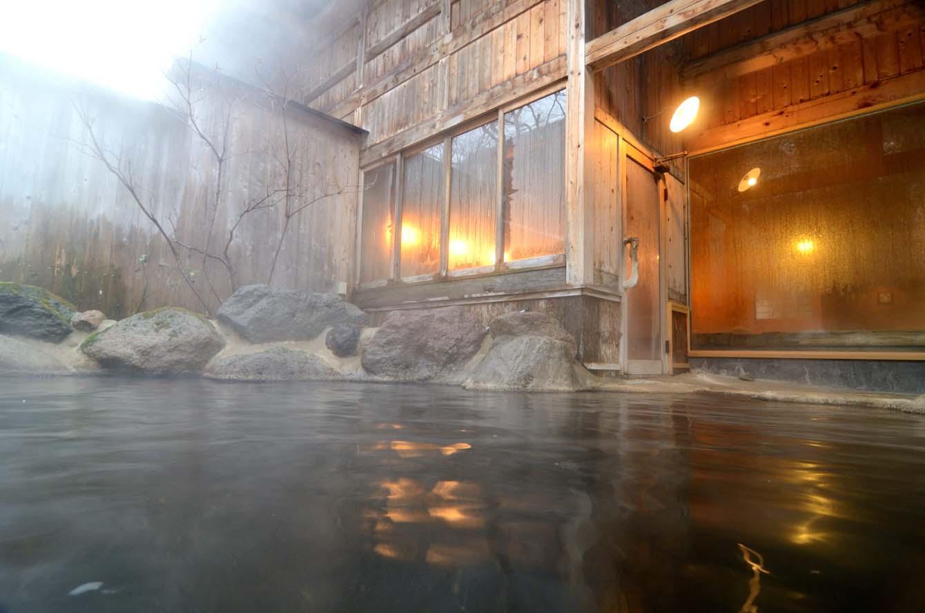 100 露天風呂